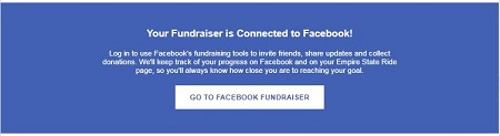 Facebook Fundraiser SAA