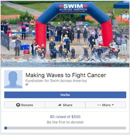 Swim Across America Facebook