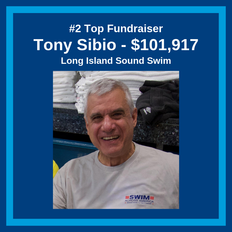 Tony Sibio Top Fundraiser 2018