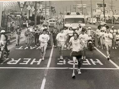 1985-Jeff Keith finish in LA