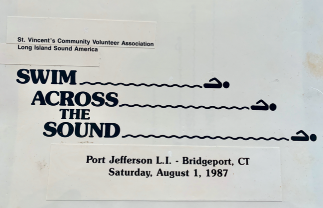 1987-Swim Across the Sound Logo Design