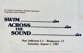 1987-Swim Across the Sound Logo Design