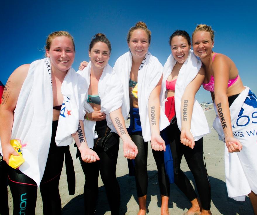 2015 Swim Across America event, Day 2 - Nantasket Beach.